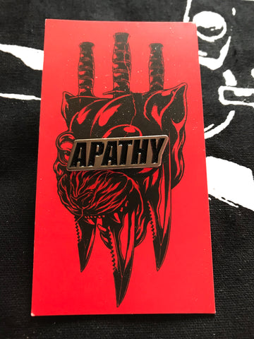 Apathy pin - James Jirat Patradoon