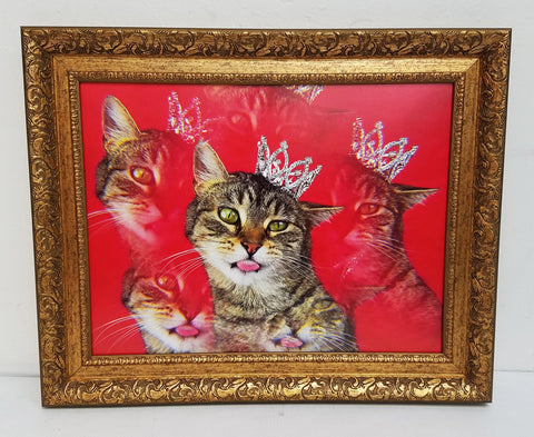 "Paul Koudounaris - Untitled ""Kitty Queen"""