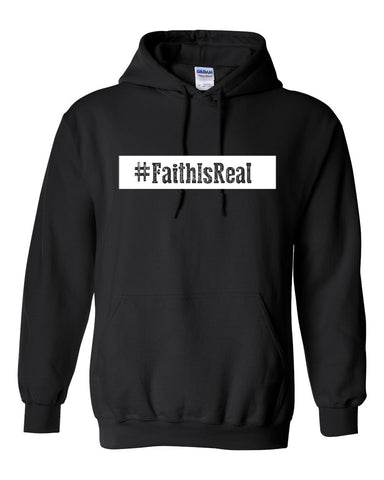Series 3 #Faith Is Real Youth Hoodie
