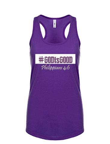 Series 3 #GOD is GOOD Ladies Tank