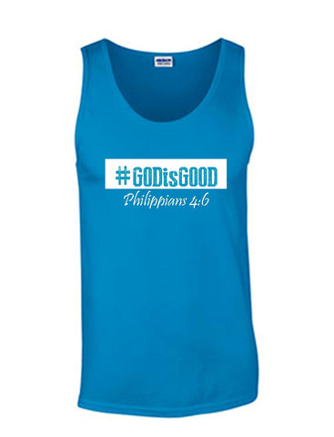Series 3 #GOD is GOOD Mens Tank