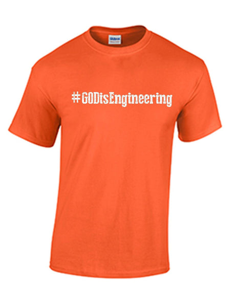 Series 1 #GOD is Engineering Mens T-Shirt