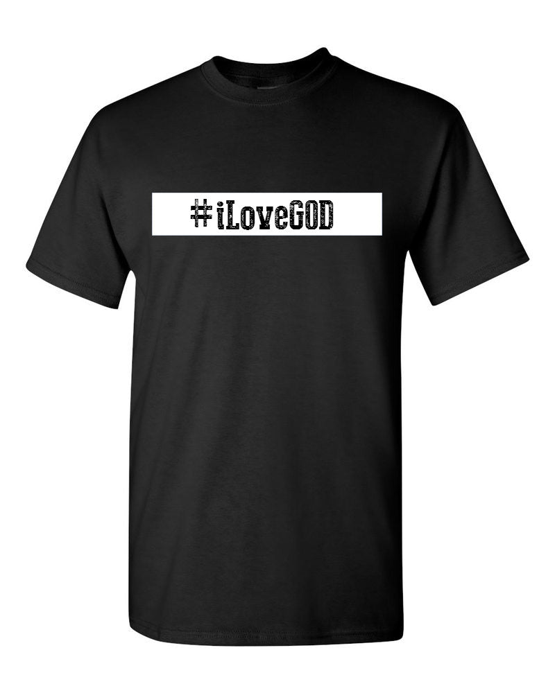 Series 3 #iLove GOD Mens T-Shirt