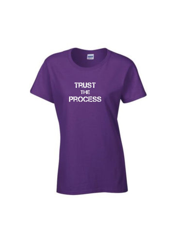 Series 2 Trust The Process Ladies Crew T-Shirt