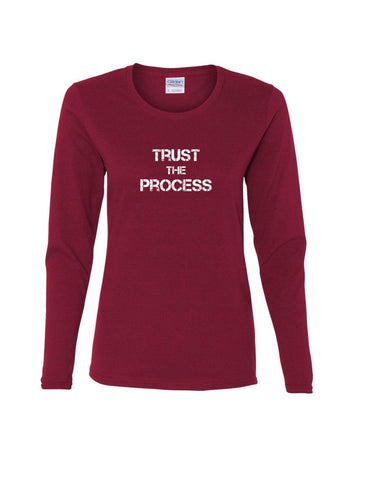 Series 2 Trust The Process Ladies Long Sleeve Tee