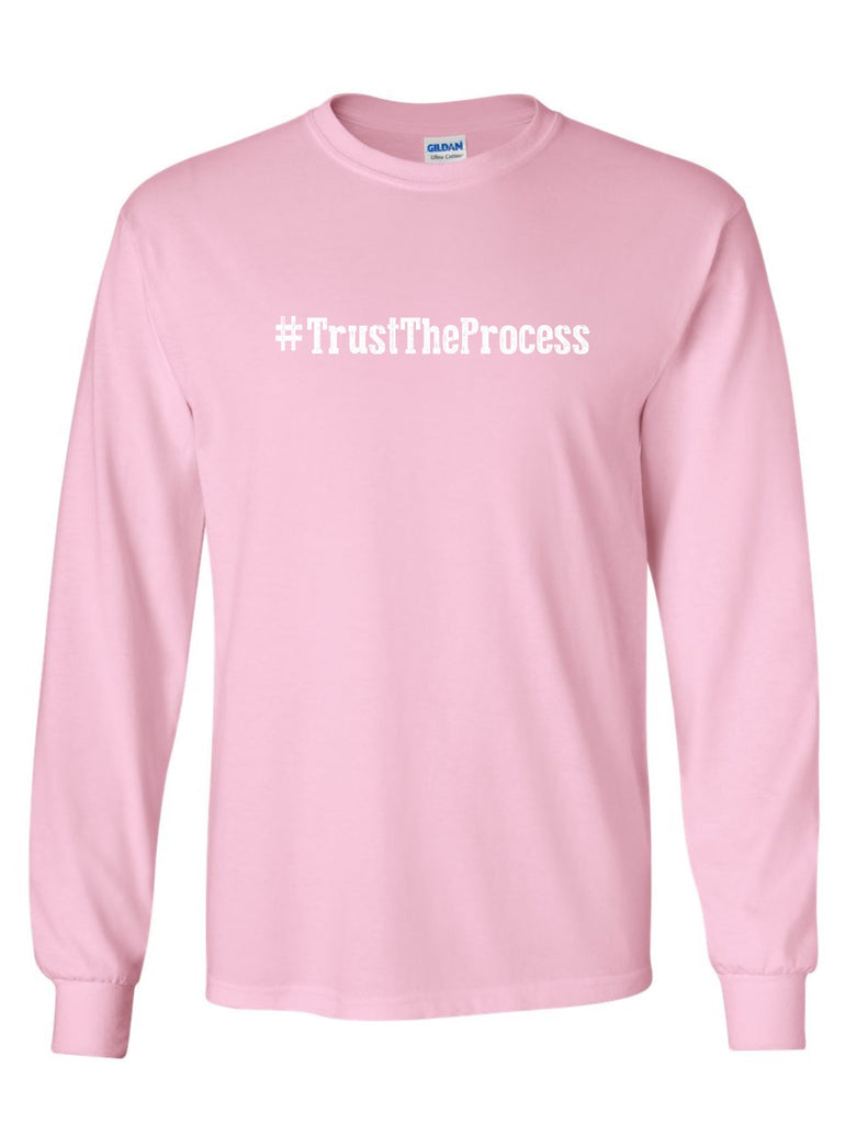 Series 1 #Trust The Process Mens Long Sleeve Tee