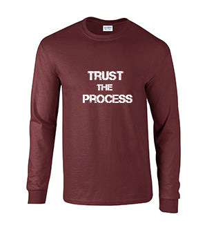 Series 2 Trust The Process Mens Long Sleeve Tee