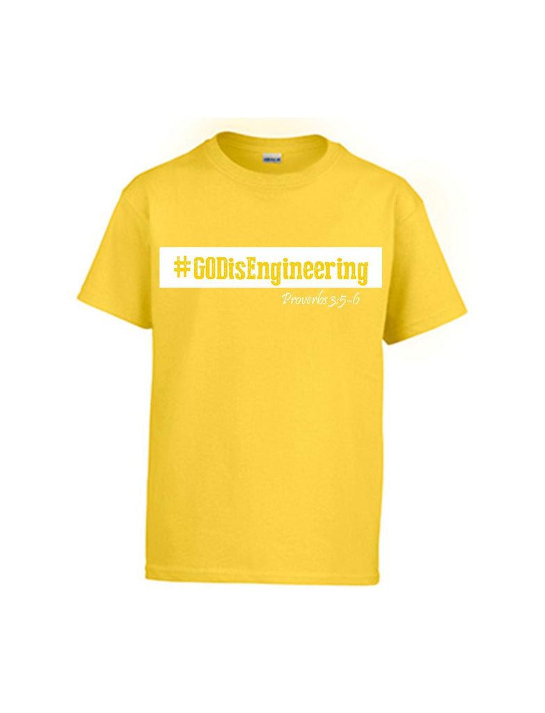Series 3 #GOD is Engineering Youth T-Shirt