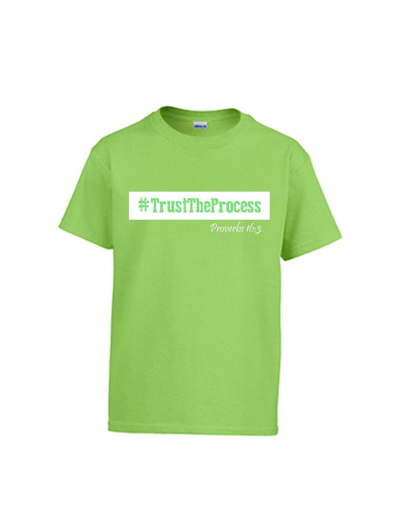 Series 3 #Trust The Process Youth T-Shirt