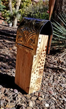 Bee House with Dragonfly Design