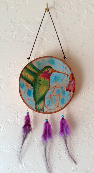 Hummingbird Large Dreamcatcher