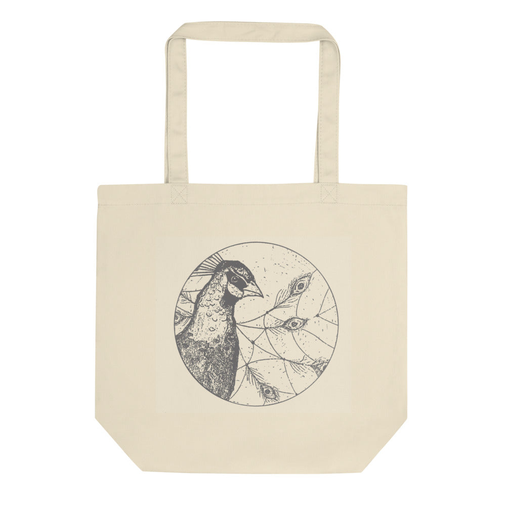 Peacock Dreams Eco Tote Bag
