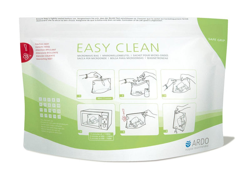 Easy Clean - Microwave Bag (5 bags) - Chester's Babies