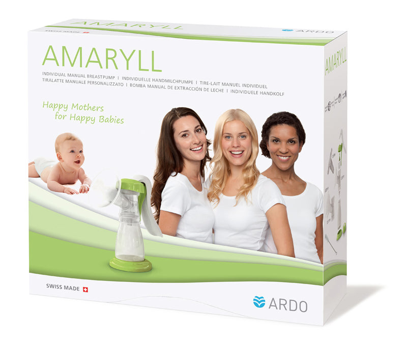 Packaging - Amaryll - Portable Manual Breast Pump - Chester's Babies