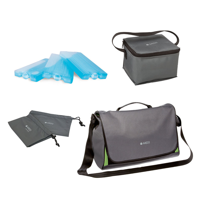Carry bag & cooler - Calypso To Go - Double Electric Breast Pump Kit - Chester's Babies