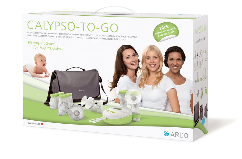 Packaging - Calypso To Go - Double Electric Breast Pump Kit - Chester's Babies