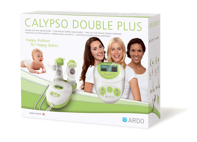 Packaging - Calypso double electric breast pump - Chester's Babies