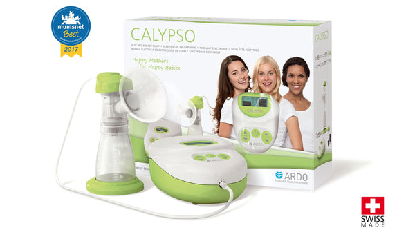 Packaging - Calypso single electric breast pump - Chester's Babies