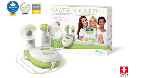 Calypso double electric breast pump - Chester's Babies