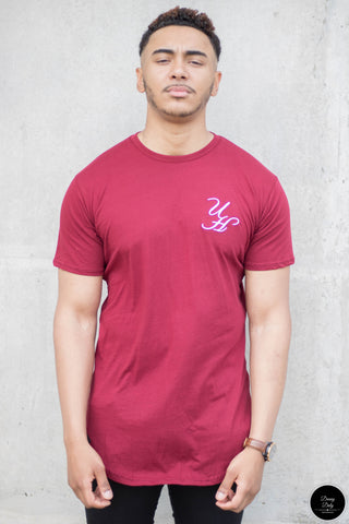 Burgundy UH T-shirt