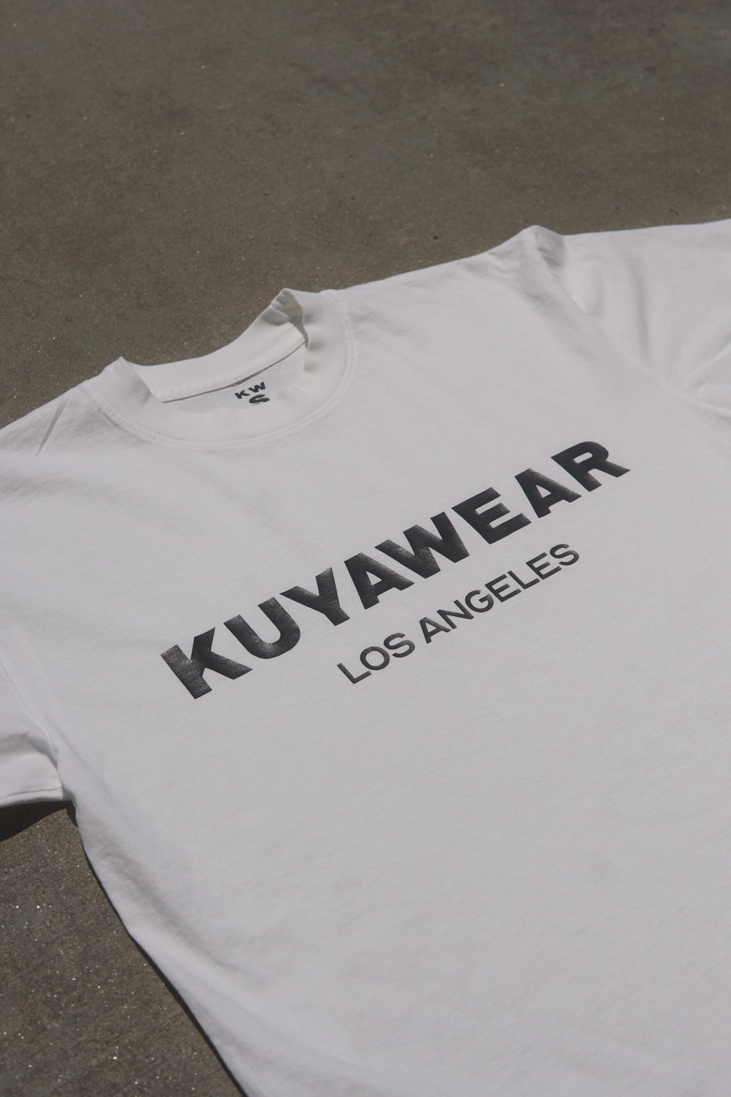 kuyawear los angeles short off white