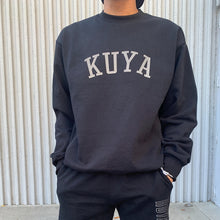 Kuya Reflective Crewneck Sweater (Black)