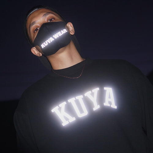 Reflective Big Kuyawear Face Mask