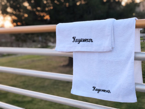 Kuyawear Signature Towel (White)
