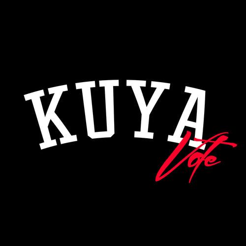 Kuyawear Vote T-Shirt (Black)