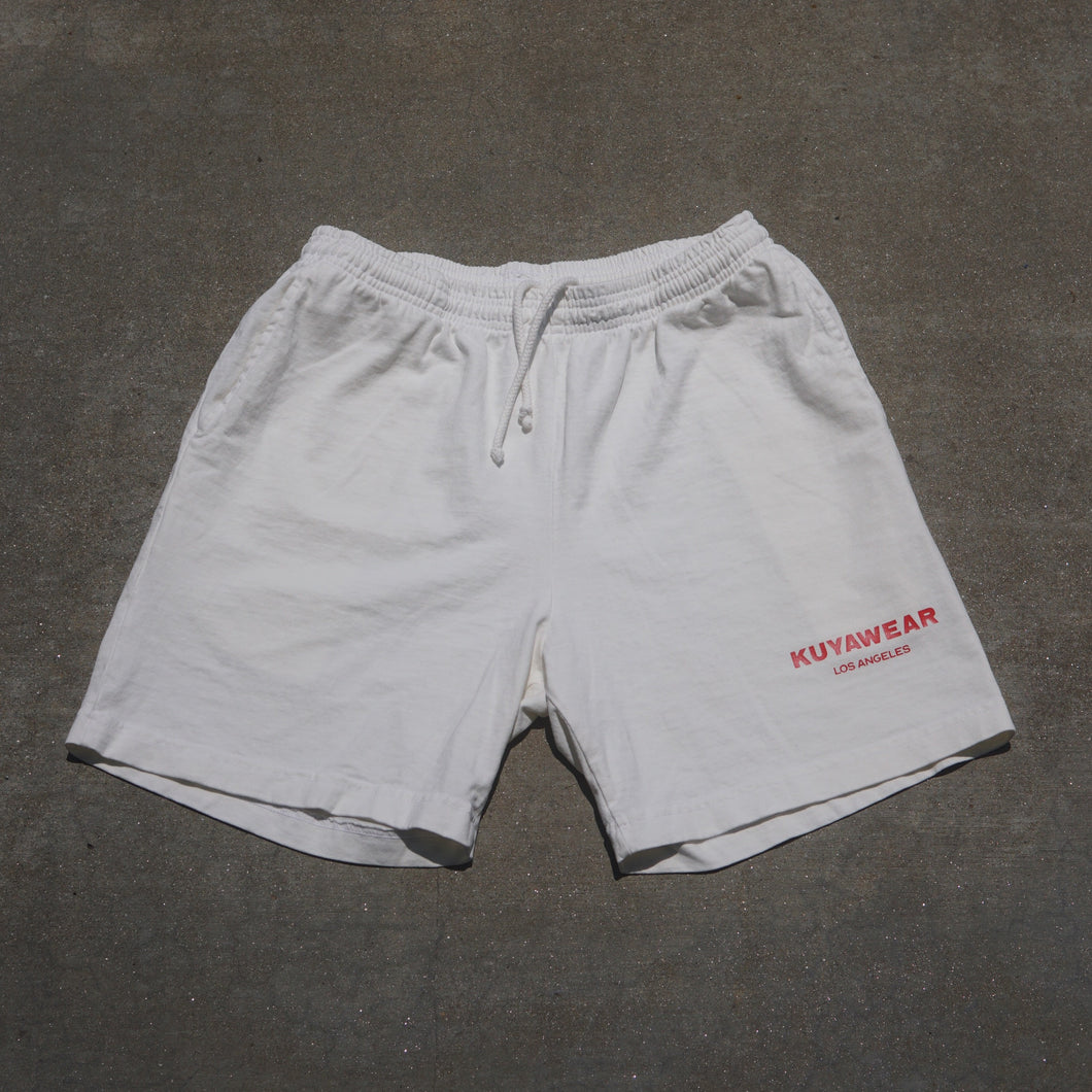 Los Angeles Shorts (Off-White)