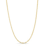 14k TINSEL NECKLACE
