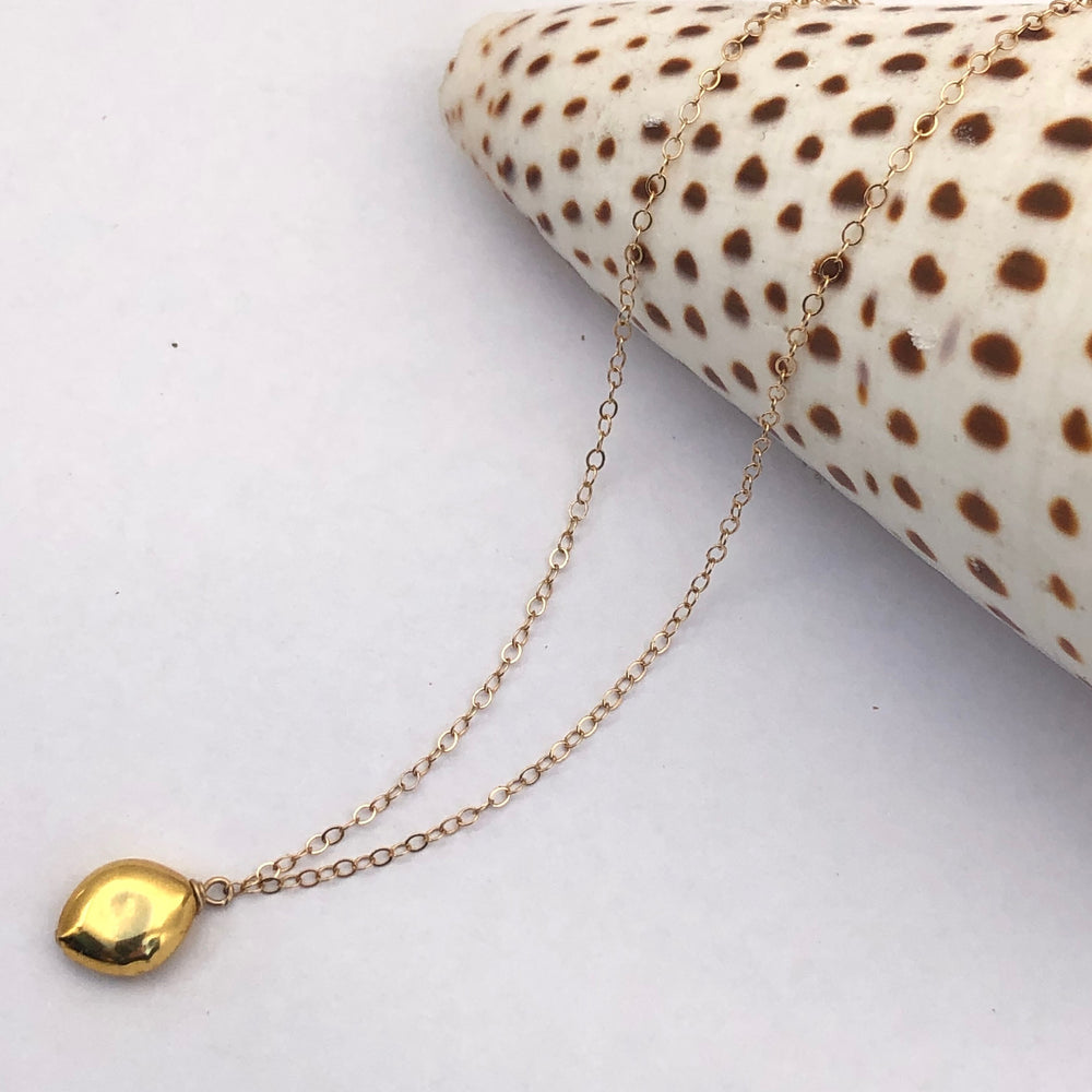 18K BUBBLE PENDANT