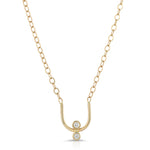 TWINKLING DIAMOND 14K NECKLACE