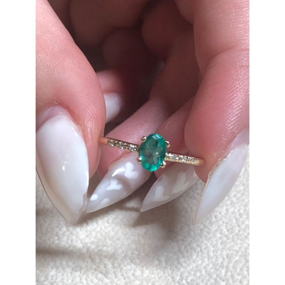 danielle-moosbrugger,EMERALD FOREST RING,