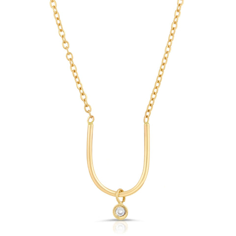 Diamond Dome Necklace