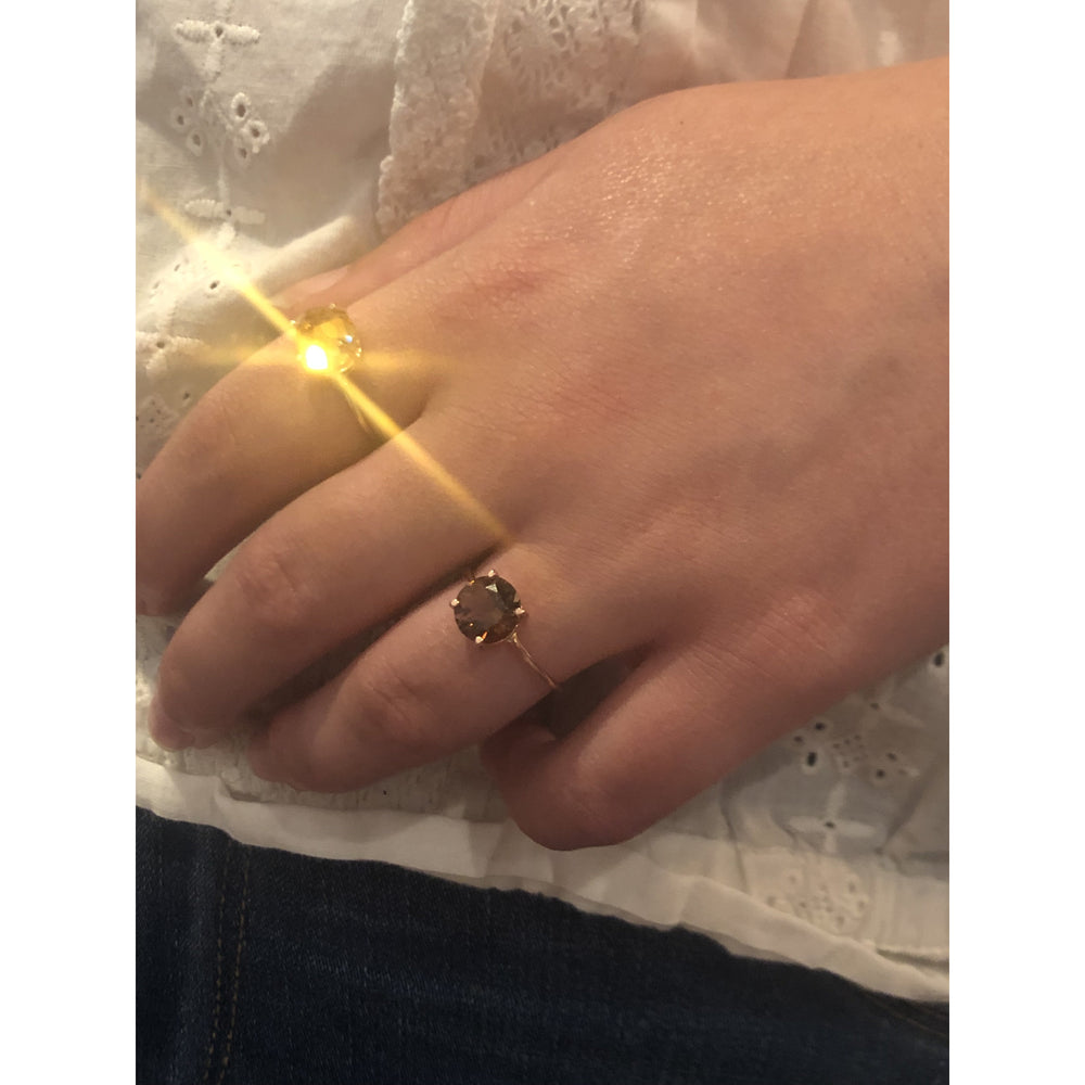 danielle-moosbrugger,CITRINE ROSE RING,ring