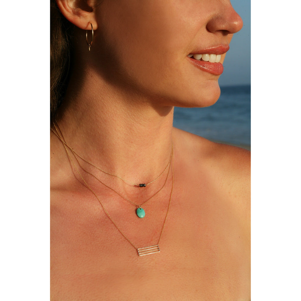 danielle-moosbrugger,BLACK DIAMOND NECKLACE,Necklaces