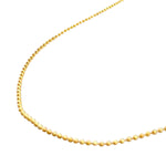 danielle-moosbrugger,FACETED BEAD CHAIN NECKLACE,Necklaces