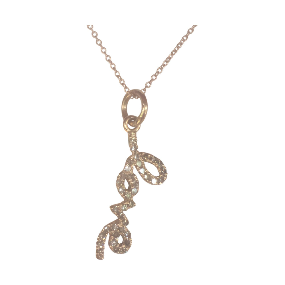 danielle-moosbrugger,DIAMOND LOVE CHARM NECKLACE,Necklaces