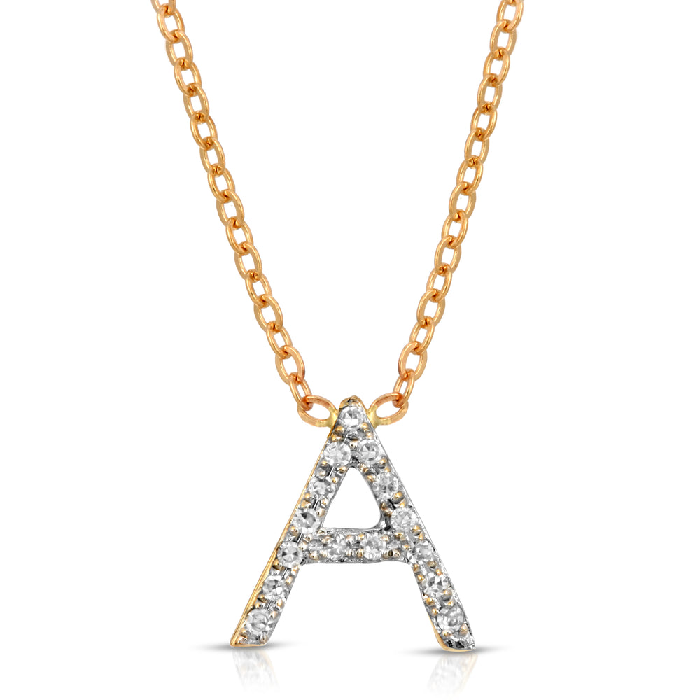 DIAMOND A NECKLACE