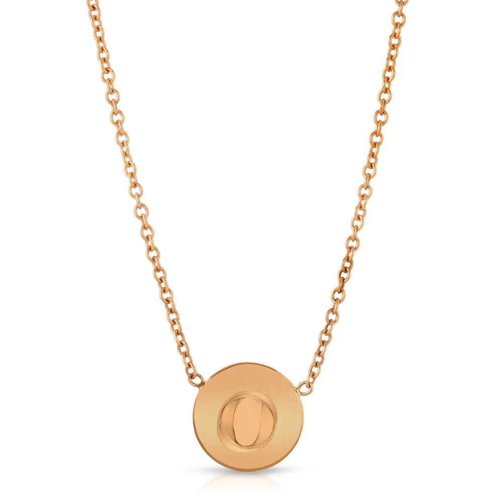14K GOLD DOT NECKLACE