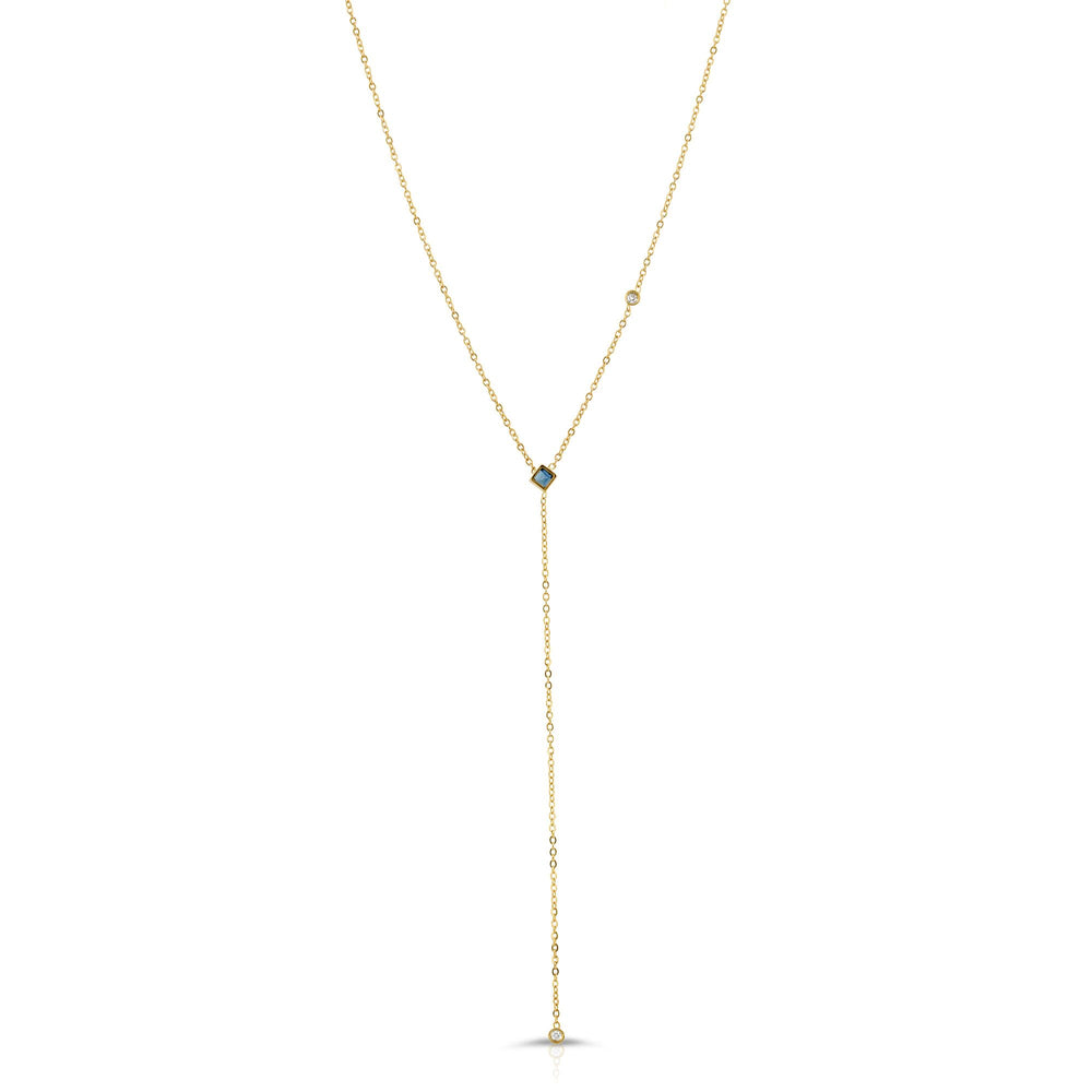 danielle-moosbrugger,SAPPHIRE AND DIAMOND LARIAT,Necklaces