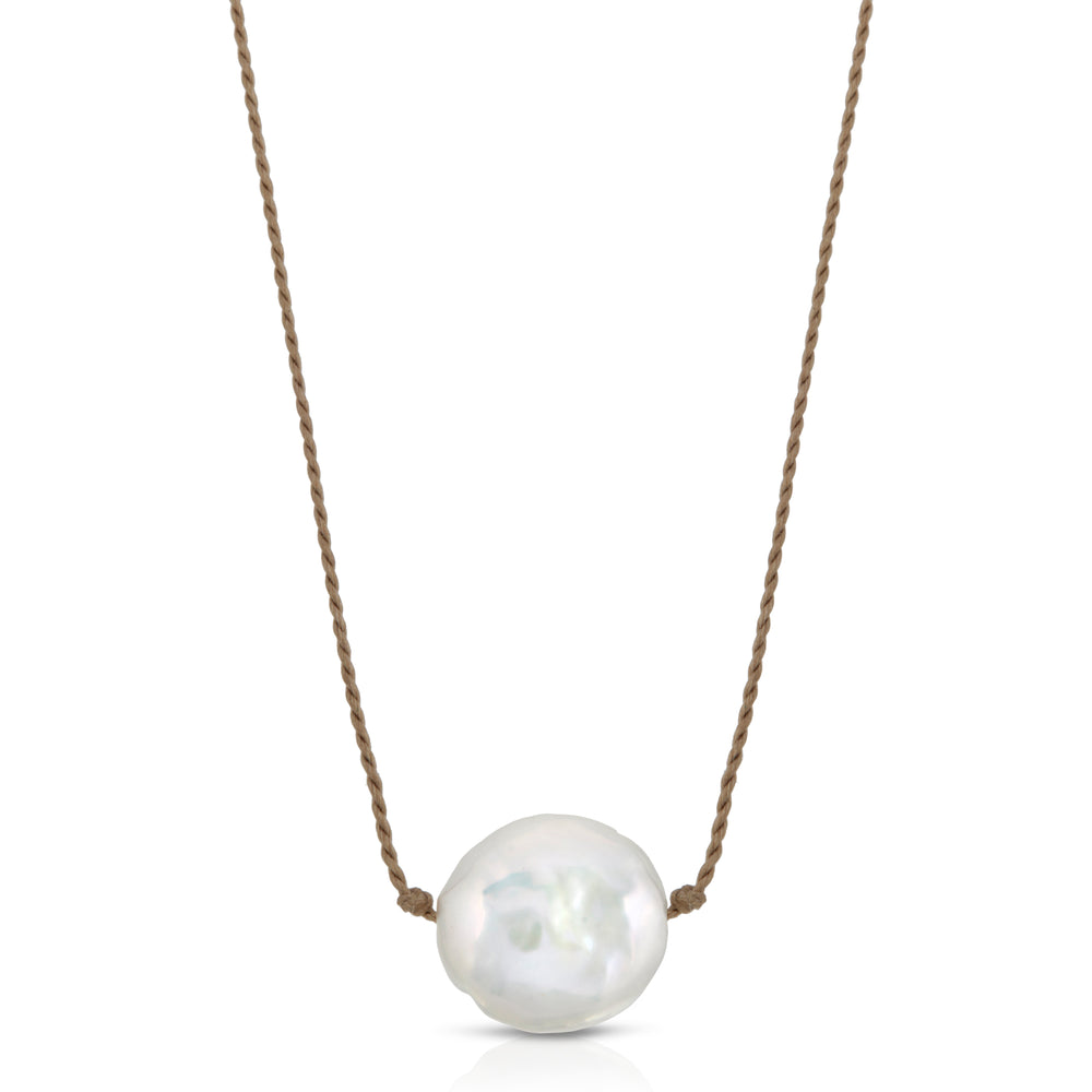 FRESHWATER PEARL SOLITAIRE NECKLACE