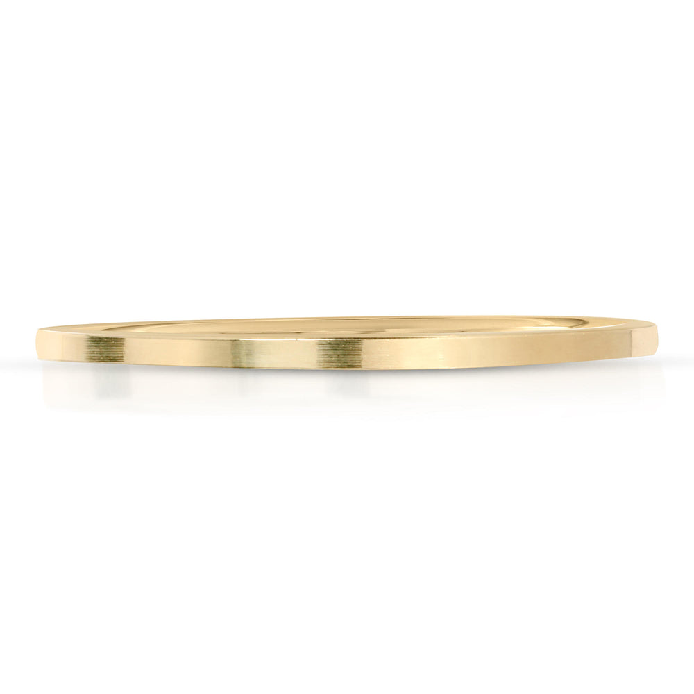 SIMPLE 14k GOLD BAND