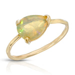 AFRICAN FACETED OPAL RING