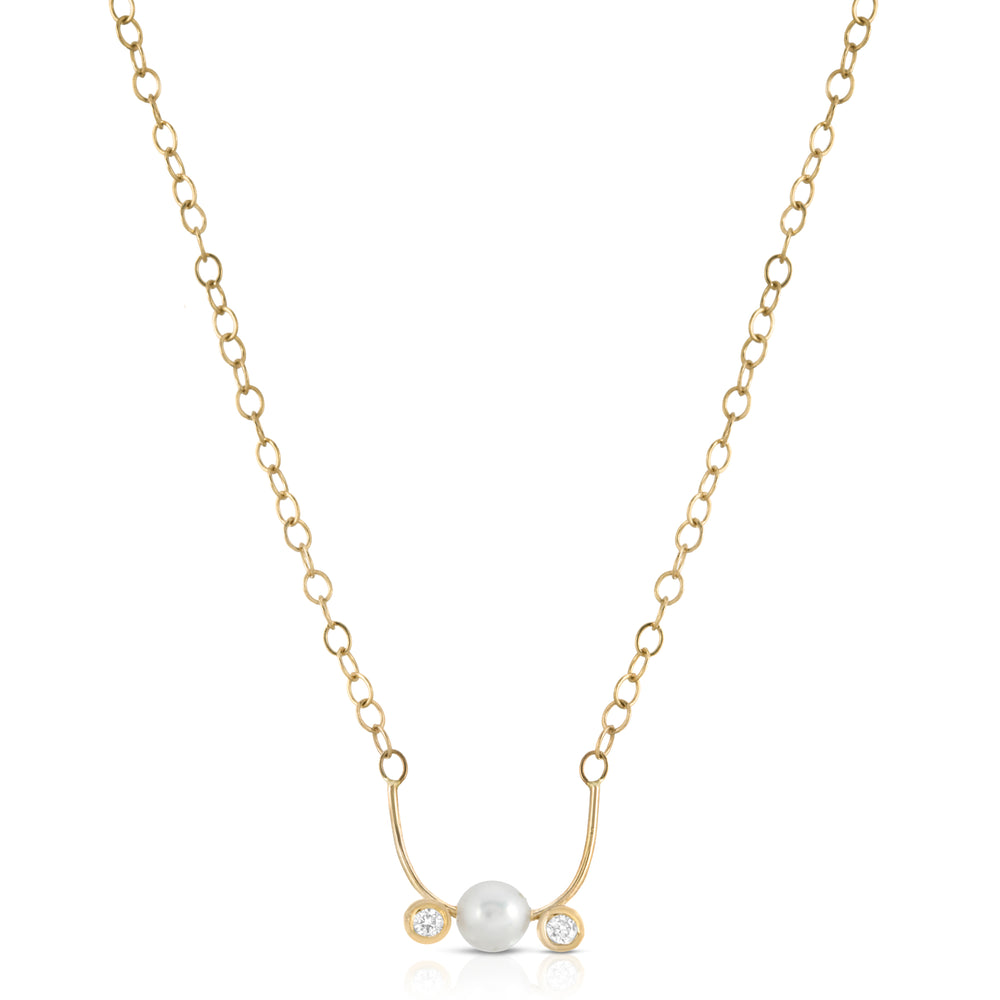 danielle-moosbrugger,Paris Pearl Necklace,Necklaces