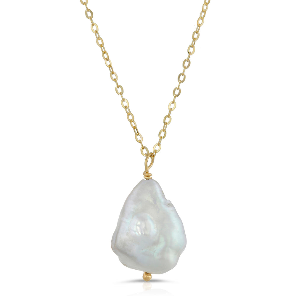 danielle-moosbrugger,ORGANIC FRESHWATER PEARL NECKLACE,