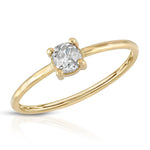 danielle-moosbrugger,ROSE CUT DIAMOND ENGAGEMENT RING,ring