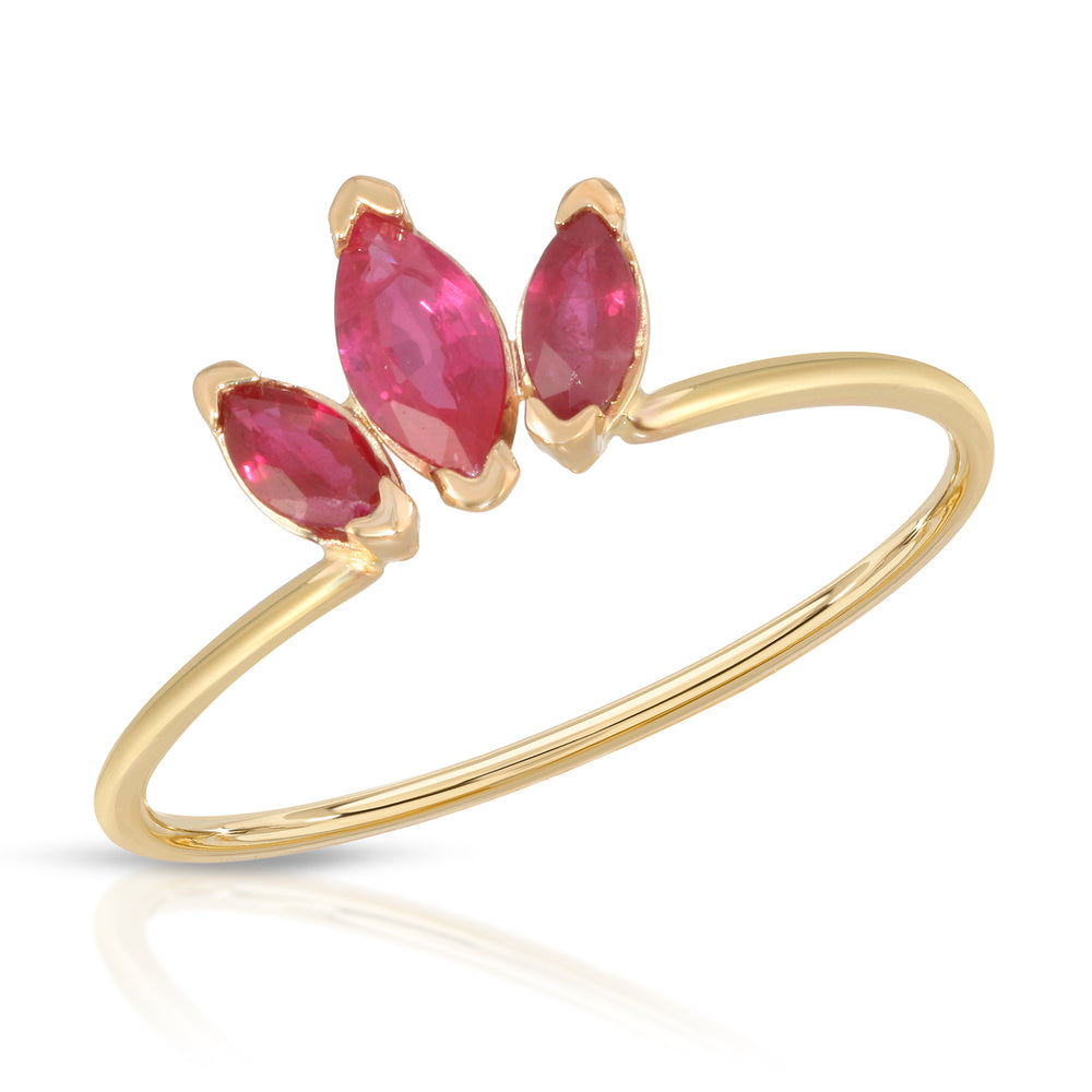 RUBY MARQUISE RING