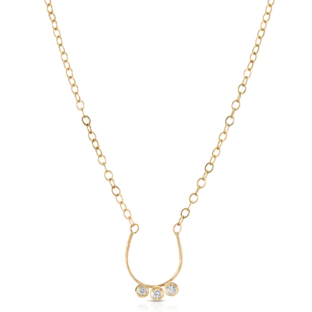 DIAMOND LILLY NECKLACE